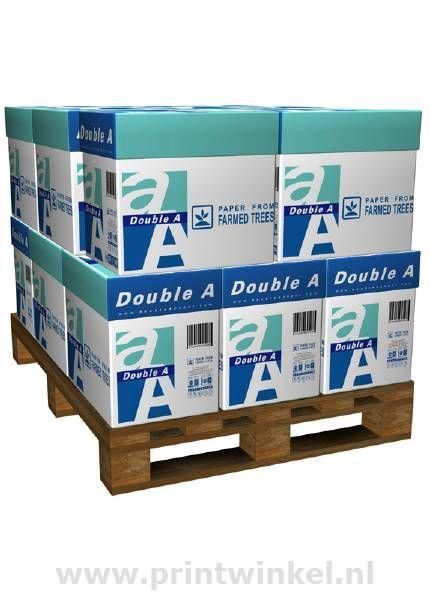 De dubbele kwaliteit van Double A Paper. Het beste kopieer- en printpapier ter wereld. Dat is DoubleA Paper in het kort. En die kwaliteit wordt gegarandeerd door een ultramodern productieproces, waardoor je kunt profiteren van papier met bijzondere kwaliteiten.