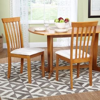 Shop for Simple Living Benton Slat-back Dining Chairs, Set of 2. Get free shipping at Overstock.com - Your Online Furniture Outlet Store! Get 5% in rewards with Club O!