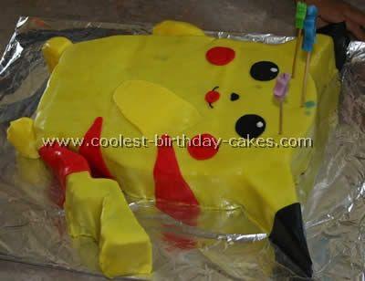 Pokemon birthday cake recipes