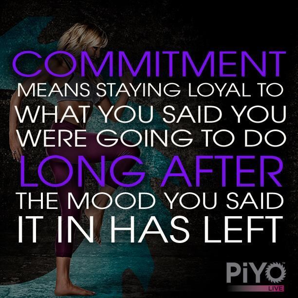 Stick to your goals! Don't give up! http://www.onesteptoweightloss.com/piyo-workout-results #PiYoWorkoutResults