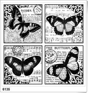 butterfly/music printable