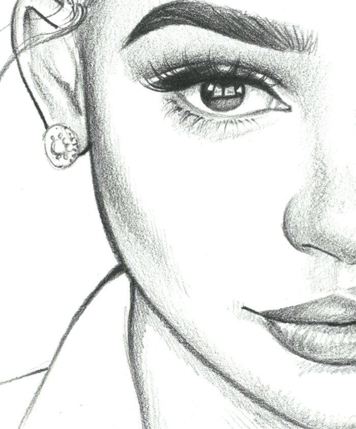 1001 Ideas How To Draw A Girl Tutorials And Pictures Art Sketches Drawing Course Pencil Art Drawings