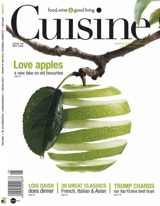 I like the use of negative space to offset from the green. This cover seems a little plain though. I think if it was talking about apples, the background should be some shade of red, to represent something like a red delicious.