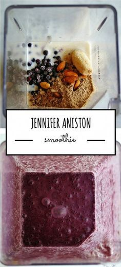 Jennifer Aniston Smoothie | anutritionisteats.com