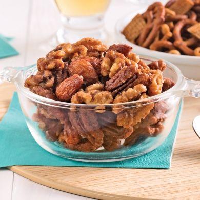 Mélange de noix aux épices - Recettes - Cuisine et nutrition - Pratico Pratique