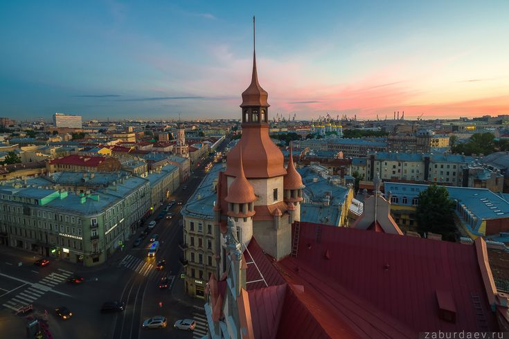 35PHOTO - Станислав Забурдаев - Санкт-Петербург с квадрокоптера — высокий сезон 2
