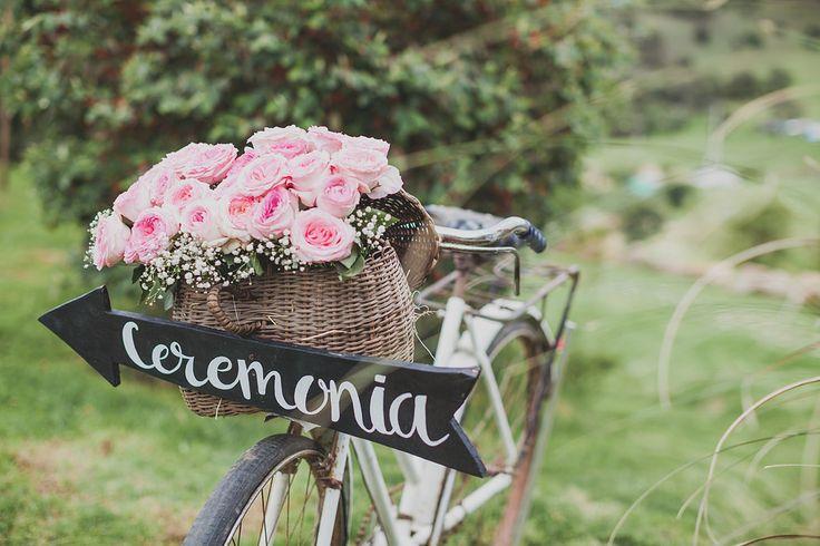 Rustic outdoor wedding - efeunodos fotografía - celebramos el amor