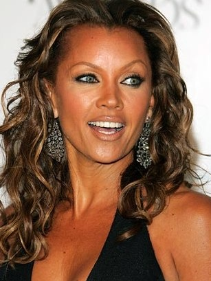 Vanessa Williams, American singer, actress and former fashion model. In 1983, she became the first woman of African-American descent to be crowned Miss America.  She resigned the title after Penthouse magazine published nude photos of her.  Wiliams rebounded by launching a career as an entertainer and earning multiple awards.