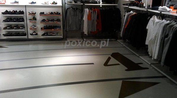 podłoga poliuretanowa do sklepu