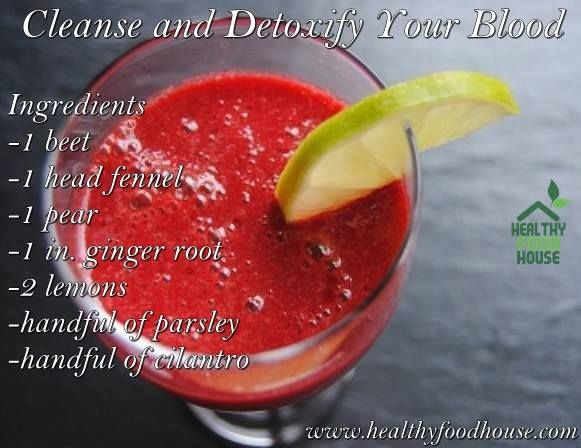 Cleanse and Detoxify Your Blood
