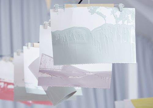 We can't get enough of colour-dipping - new AW/14 bags in the making.  www.stories.com