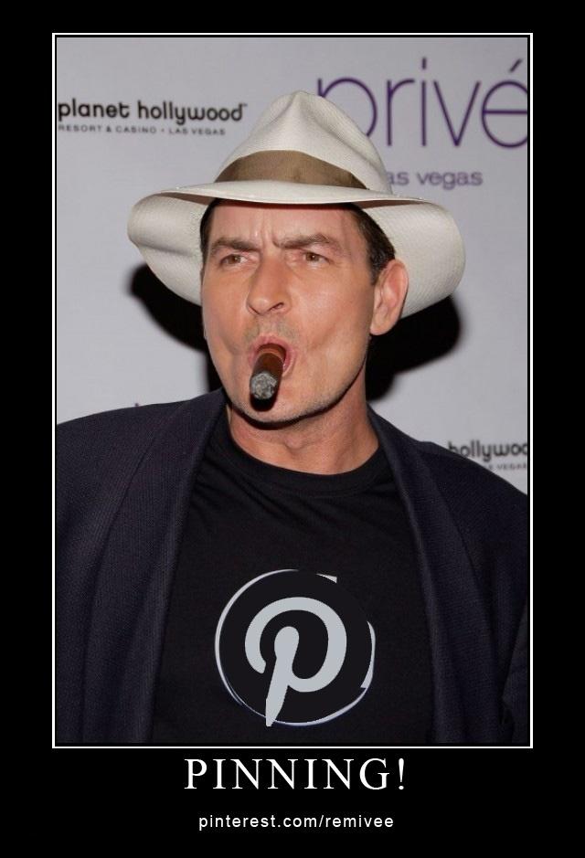 "Charlie Sheen - ""Pinning!"""