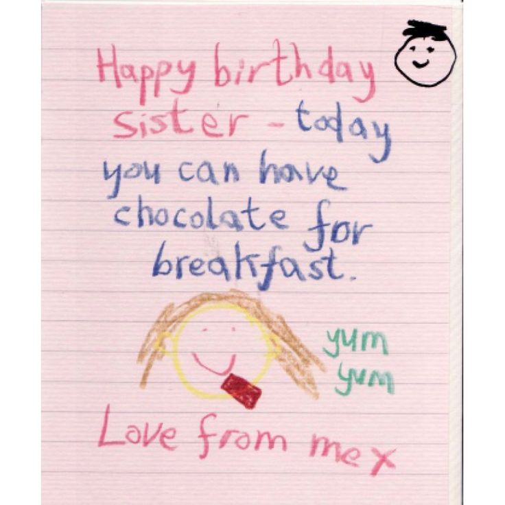 The 25 best Happy birthday sister cards ideas – Card Happy Birthday