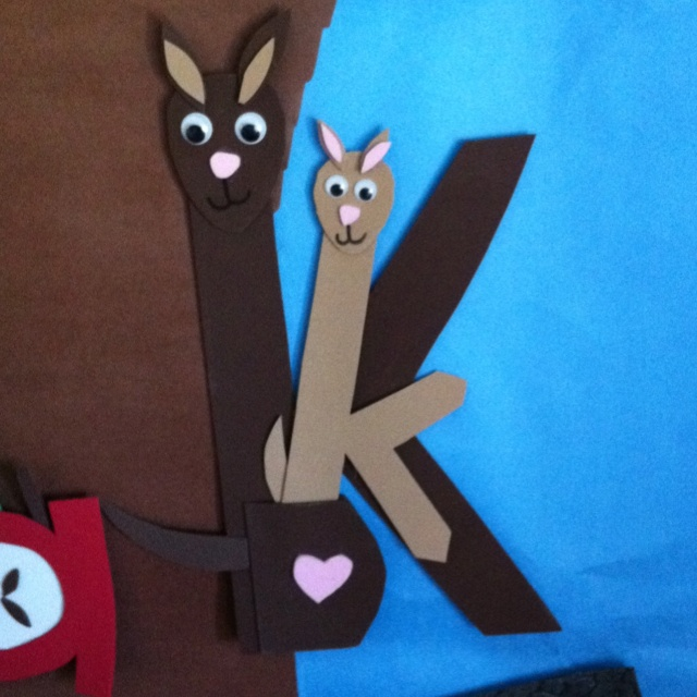 letter k crafts letter k foam buddy this is the cutest thing mfw 22893 | 6e4e114fc5163e7dbe947f37663ead6e abc crafts kids crafts