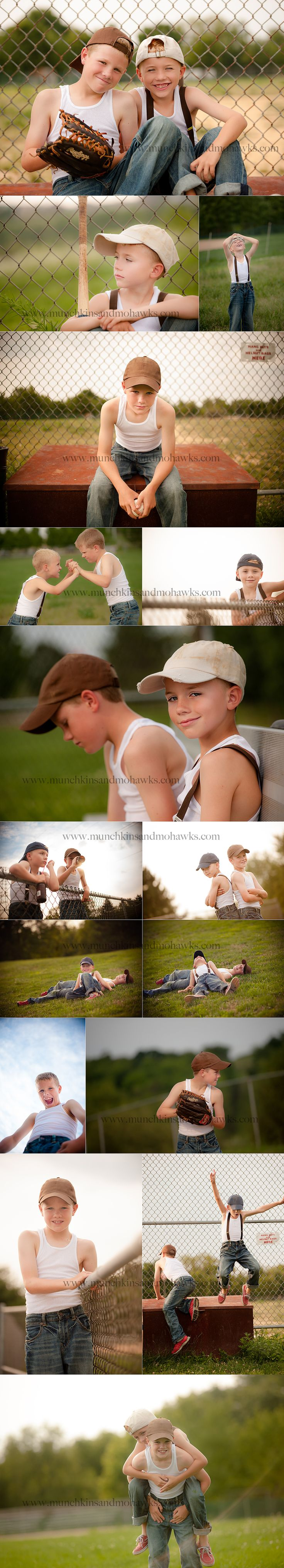 Posing ideas for brothers! So going to do this!! Cute!