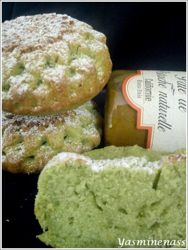 Petits gâteaux à la pâte de pistache - A l'orée des douceurs