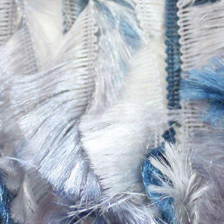 Blue Grey Boa Yarn (5 - Bulky) by Bernat