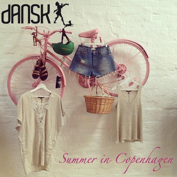 Summer in Copenhagen. #danskmelbourne #bikestyle #welove summer