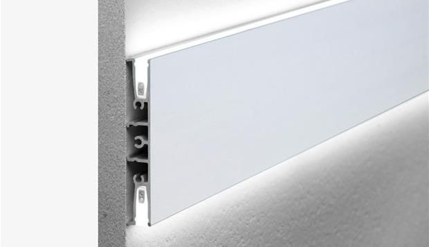 wall washer aluminium extrusion iguzzini lighting. Black Bedroom Furniture Sets. Home Design Ideas