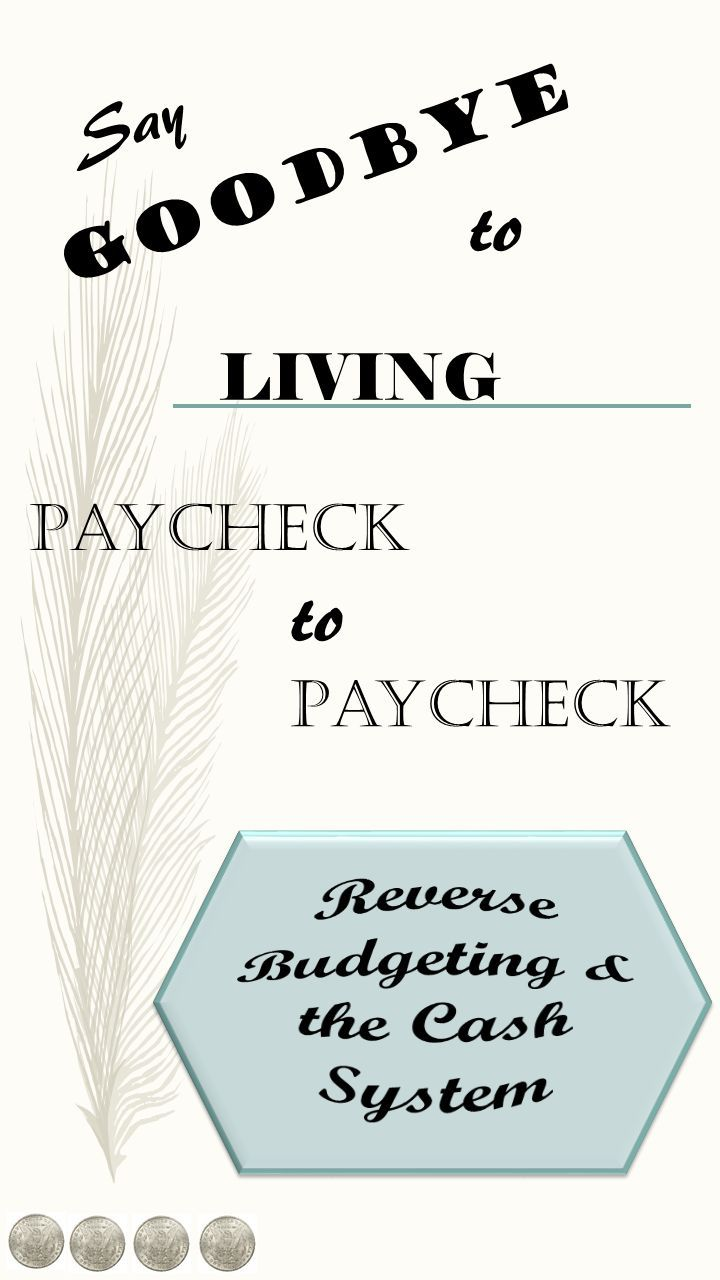 This post is part of a series.  To start the series from the beginning, click here.  To browse through the series, click here. Let's recap on reverse budgeting and the cash system. Reverse Budgeting Reverse budgeting is a three-step savings process.  The first step is to determine how much money you want to set aside …