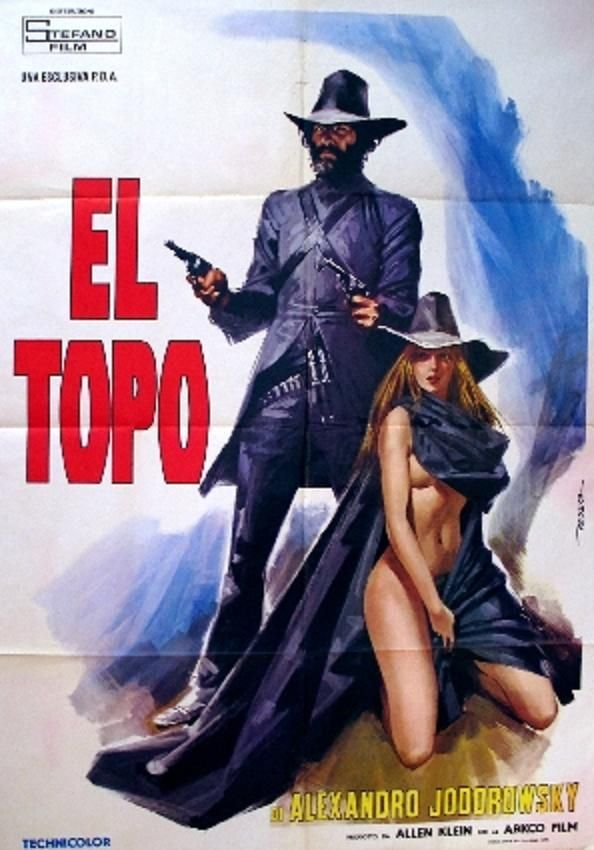 El TopoMovie Posters, El Topo, Alejandro Jodorowsky, Essential Movie, Film Posters, Pending Cinema, Topo Movie, Alexandros Jodorowsky, Topo 1970