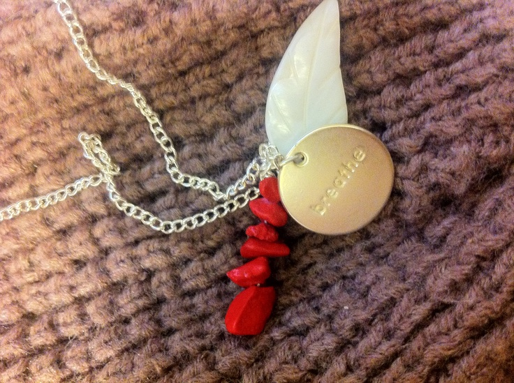 Breathe Necklace by LLSween on Etsy, $45.00