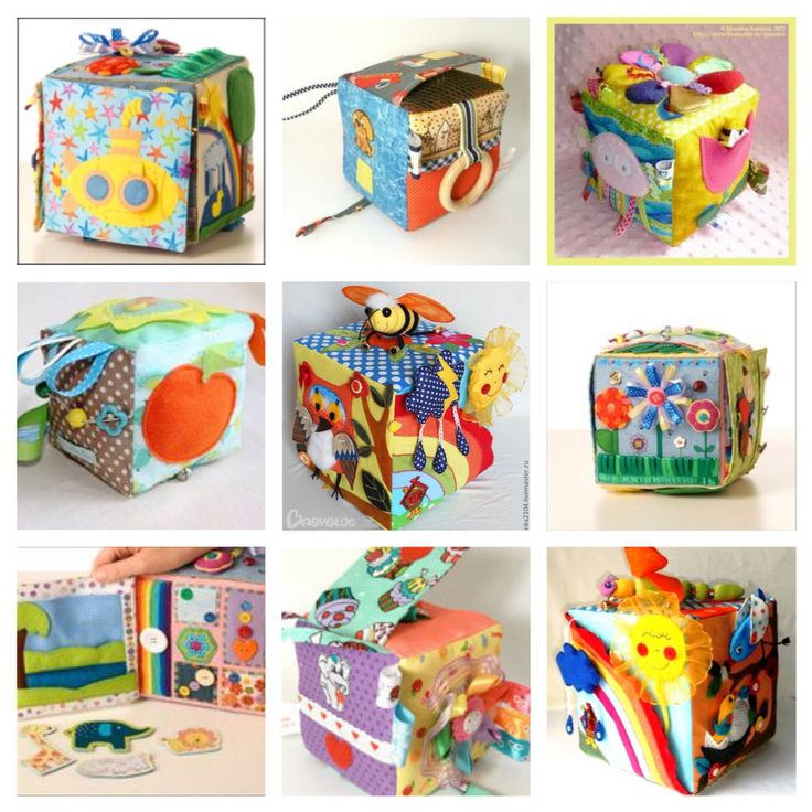 Quiet cube ideas, great gift for a newborn, babyshower, kraamkado