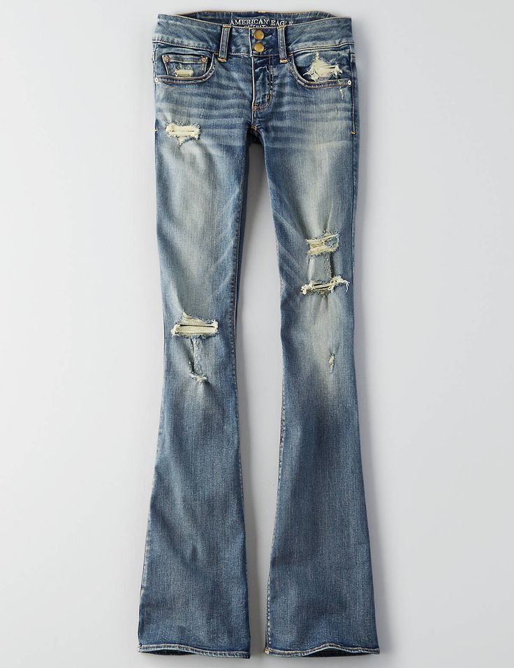AEO Denim X Artist® Flare Jean , Heritage Dawn | American Eagle Outfitters