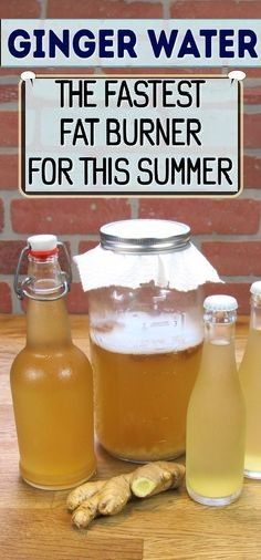 Ginger-Water-The-Fastest-Fat-Burner-For-This-Summer Recipe.