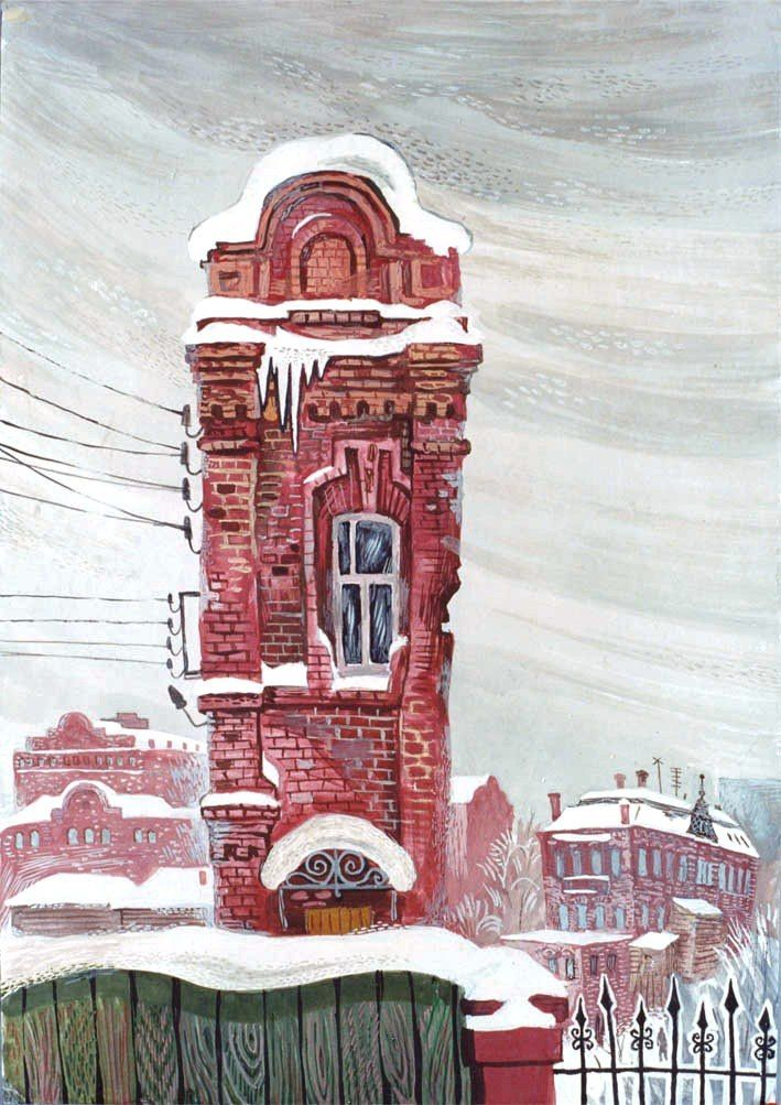 Alexey Ryzhkov. Brick city
