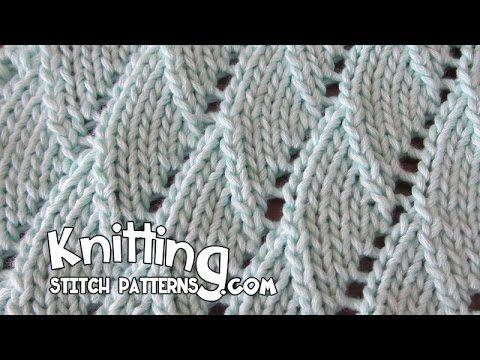 pinned from Knitting Stitch Patterns .com