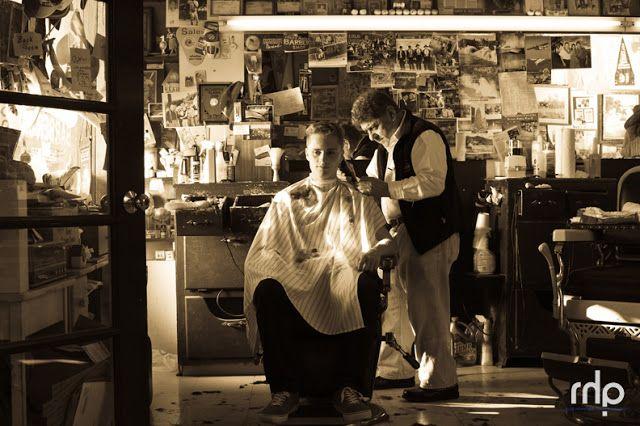 Old fashion barber shop