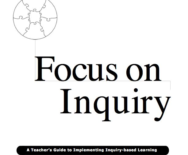 Lots or resources to help with implementing Inquiry Learning