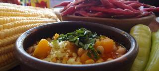 Cranberry Beans with Squash and Corn (Porotos Granados)