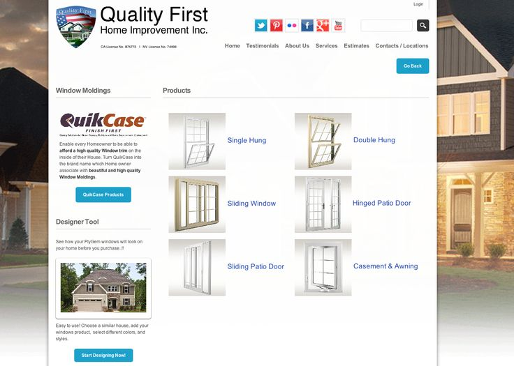 82 Best Quality First Home Improvement Inc General Contractor Images On Pinterest First Home