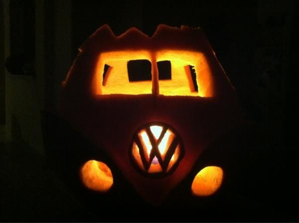 Volkswagen Halloween Vanagon Pumpkin Vanagon Obsession