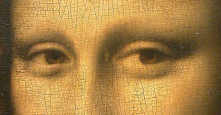 An Italian researcher has sparked new controversy over the world's most famous painting by claiming Leonardo da Vinci painted tiny letters into the eyes of the Mona Lisa which may finally reveal the disputed identity of his model.    To arrive at a theory worthy of The Da Vinci Code, Dan Brown's 2003 bestseller, researcher Silvano Vinceti avoided the Mona Lisa's enigmatic smile and instead gazed deep into her eyes with the help of high-resolution images.