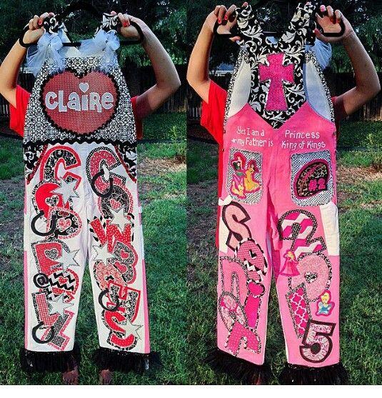 Senior overalls