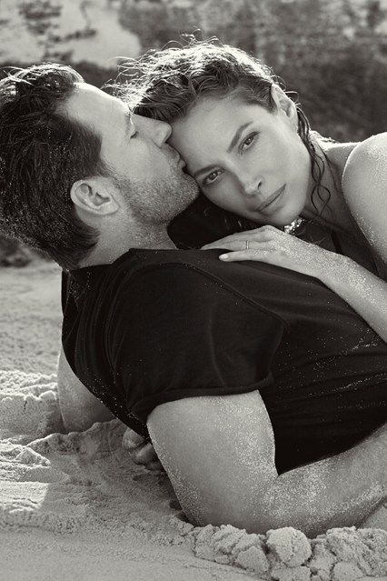 More than 20 years after her original Calvin Klein Eternity campaign, Christy Turlington proves her staying power in the current ad with hubby Ed Burns | Calvin Klein's Eternity 2014.