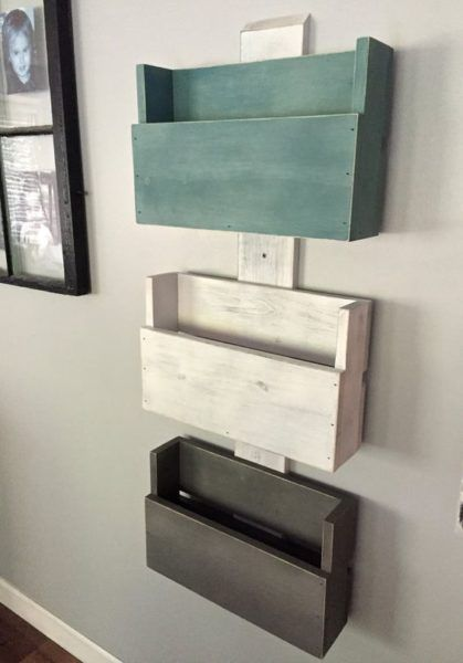 DIY Ideas To Use Pallets To Organize Your Stuff                                                                                                                                                                                 More