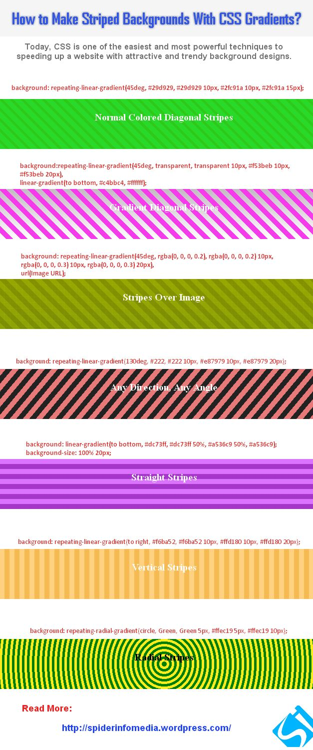 Css background image 50 percentage - How Do We Make Striped Background Designs With Css