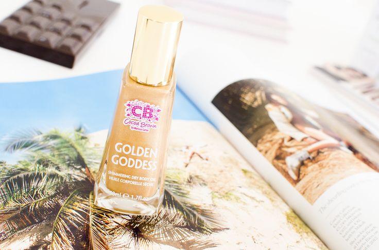 De skimriga kroppsoljorna har tagit marknaden med storm 2016. Idag berättar jag om Golden Goddess Shimmering Dry Body Oil från Cocoa Brown.
