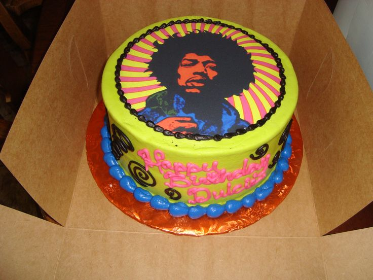 Jimi Hendrix In 2019 Amazing Cakes Cake Let Them Eat Cake