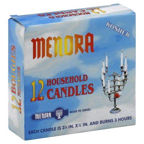 Menorah, Candle 12-Pack (12 Pack)