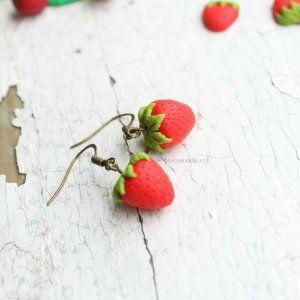 #Fimo #PolymerClay #fraise