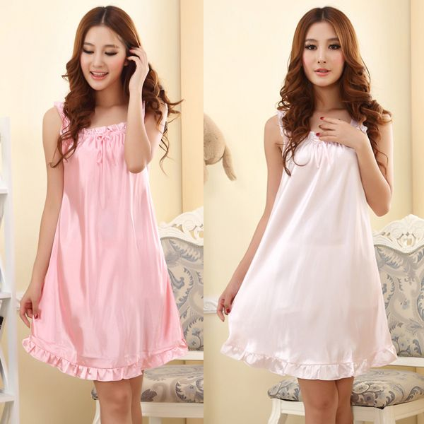 Cheap pajama silk, Buy Quality pajamas summer directly from China pajamas underwear Suppliers:  Description100% Brand New and High Quality!!Weight110g approxSizeBust:88cm/34.6inLength:77cm/30.3inMaterialimita
