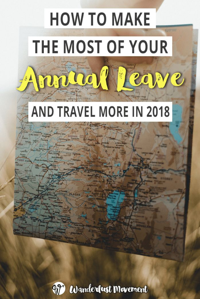 How to Make the Most of Your Annual Leave in 2018 | Want to travel more in 2018? Here's how you can make the most of your annual leave by carefully planning your time off around the South African public holidays.