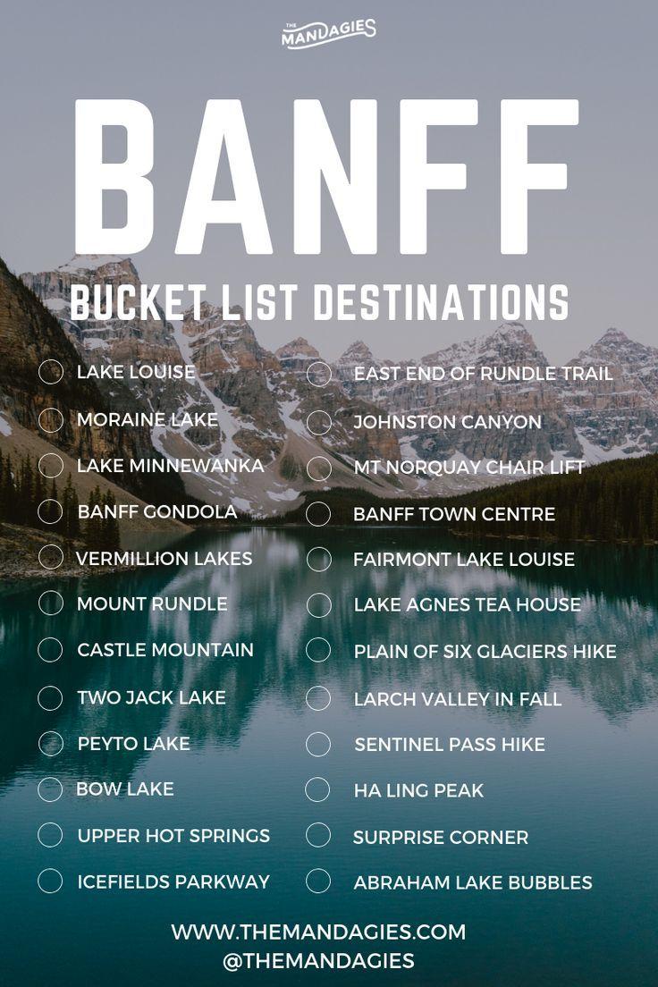 20 abenteuerliche Aktivitäten in Banff, Kanada