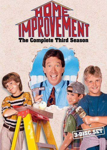 http://theworldepost.com/pinnable-post/home-improvement-the-complete-third-season/ In its hilarious third season, millions of fans made HOME IMPROVEMENT the #1 sitcom in America. Tim Allen and the cast laid the foundation for one of the funniest series in television history, and audiences everywhere loved it! Also a hit with the critics, season three garnered a Golden Globe nomination for Best TV Series in the Comedy/Musical category, and Tim All...