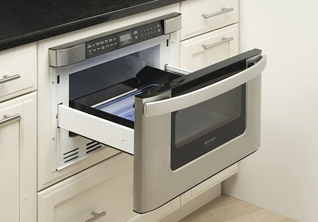Sharp was the innovator of the microwave drawer, and the Sharp Insight Pro Series KB6524P is their latest model; $751.46 at AJ Madison.